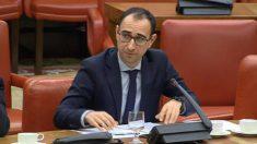 David Serrada, portavoz del PSOE en la Comisión de Interior del Congreso.