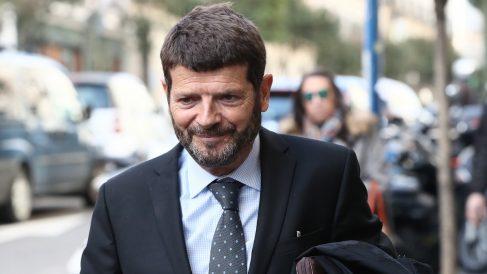 El exdirector de los Mossos d'Esquadra, Albert Batlle, a la salida del Tribunal Supremo (Foto: Efe).