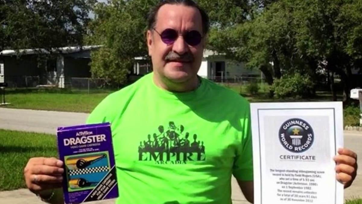 Todd Rogers ha sido despojado de su récord Guinness de Dragster al ser considerado imposible conseguir una marca de 5'51 segundos