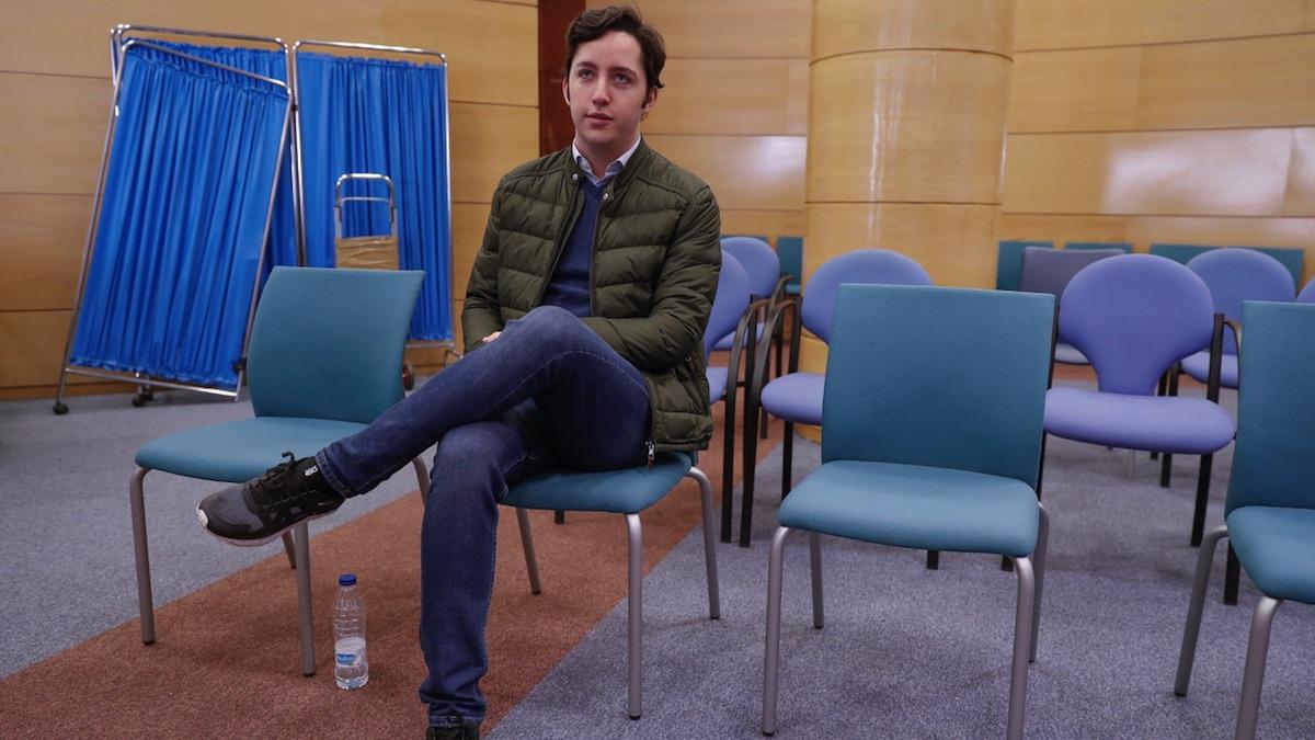 Francisco Nicolás, conocido como 'el pequeño Nicolás', en una vista judicial en 2018. (Foto: EFE)