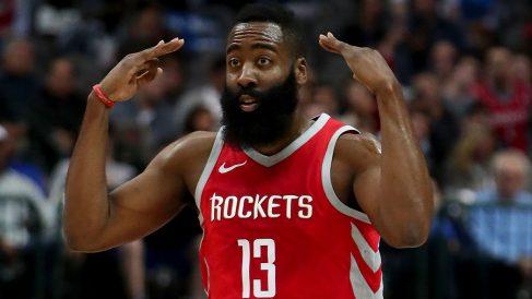 James Harden es el actual MVP de la NBA. (AFP)