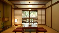 En el hotel japonés Ichinoyu Honkan, los objetos se colocan automáticamente./ Nissan