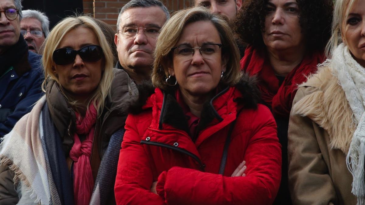 La portavoz del PSOE de Madrid ciudad, Puri Causapié. (Foto: Flickr)