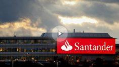 Oficinas de Banco Santander en Madrid. (Foto: Getty)