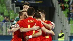 La selección española empató en su debut en el Europeo de fútbol sala 2018. (sefutbol.com)