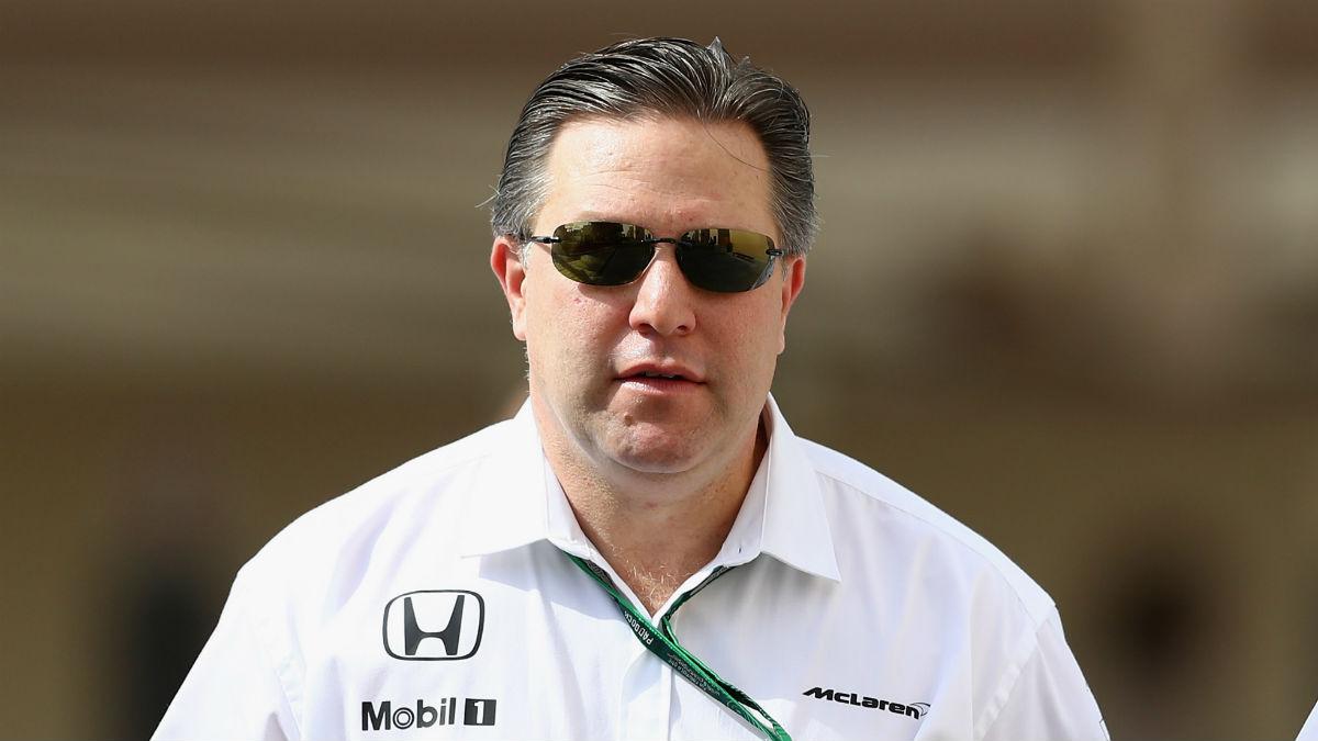 Zak Brown asegura que quiere conseguir el sueño de la Triple Corona al igual que Fernando Alonso, aunque en su caso desde la posición de director de equipo. (Getty)