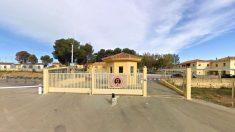 Exterior del cuartel aéreo de Bobadilla, en Antequera, donde se produjo la presunta violación.