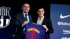 El Barça ha realizado la compra más cara de la historia de los mercados invernales, al pagar 120 millones por Coutinho, que podrían llegar a 160 (Getty).