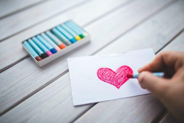 dibujar corazon