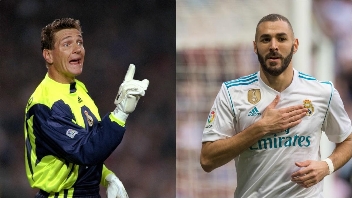 Bodo Illgner y Karim Benzema. (Getty)