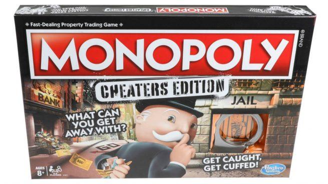 Un Monopoly Para Tramposos El Juego De Mesa Para Los Poco Legales