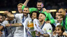 El Real Madrid levanta la Duodécima en Cardiff. (Getty))