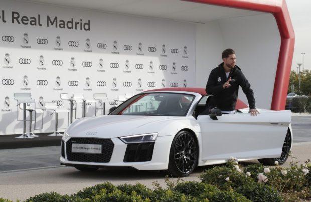 La flota de Audis de la plantilla del Real Madrid está valorada en más de 2,5 millones