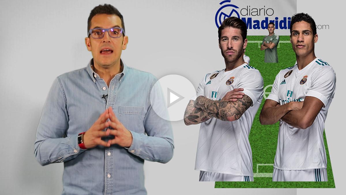 Esta es la alineación del Real Madrid vs Levante. (vídeo: Patricia García)
