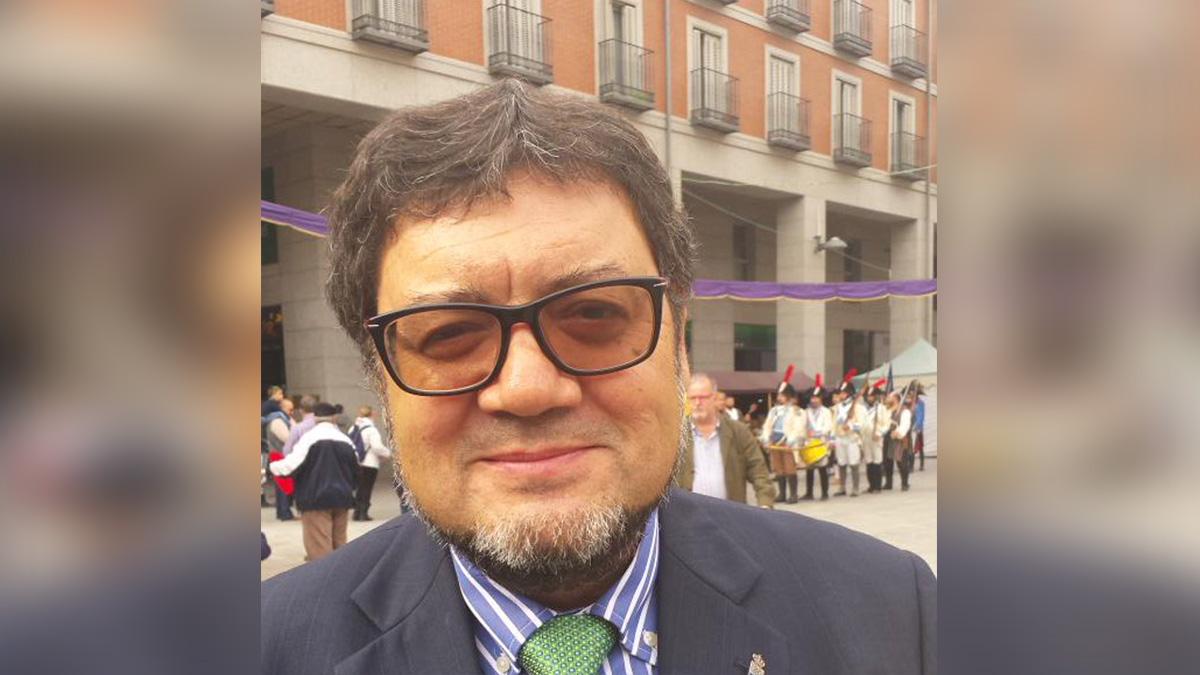 El edil de Leganés de cultura. (Foto: TW)