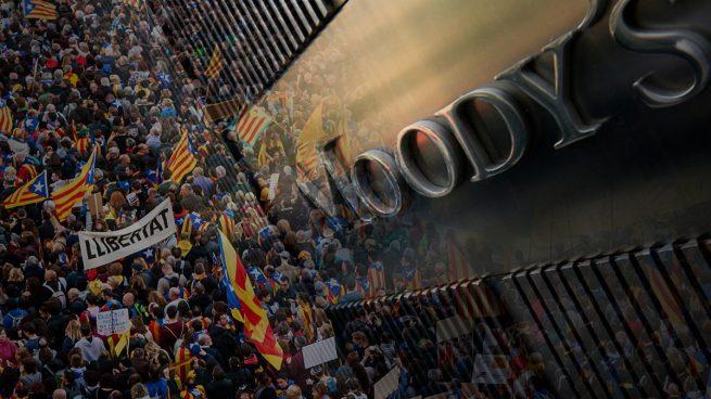 Moody's advierte a Cataluña y Valencia: «Serán las que tengan mayores necesidades de financiación en 2019»