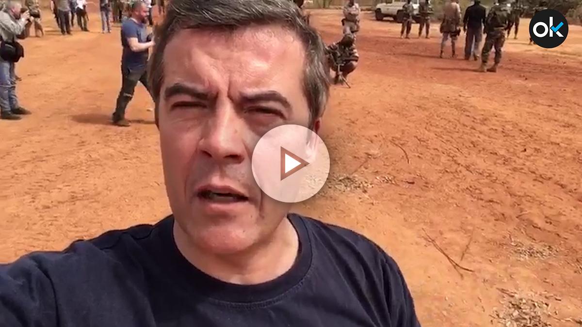 OKDIARIO en el campo de entrenamiento de Koulikoro, situado a unos 60 kilómetros de Bamako, en uno de los márgenes del río Níger