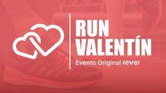 """Run Valentín, """"la carrera del amor"""", te propone recorrer un circuito de 5 kilómetros unido a tu pareja (o tu amigo) por una pulsera"""