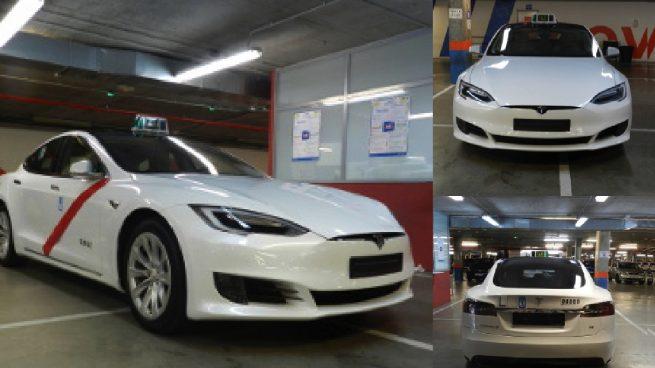 Los primeros taxis eléctricos de Tesla llegan a Madrid tras superar la homologación