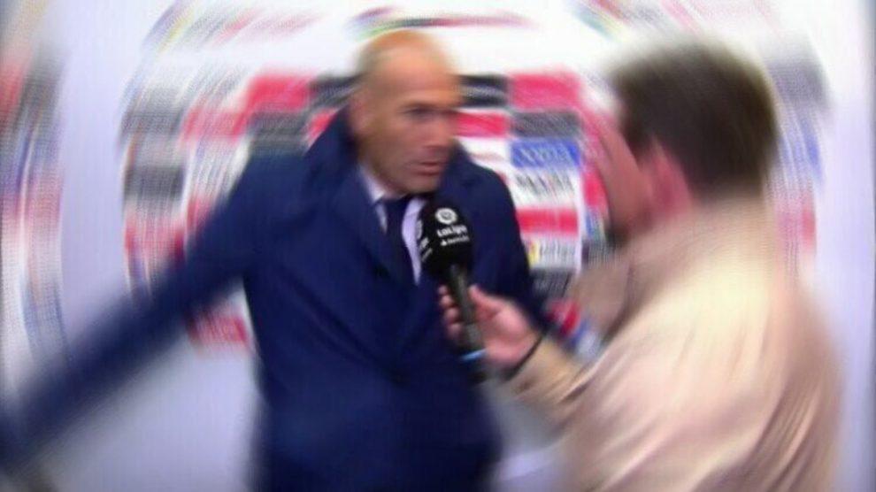 Las redes sociales se inundaron con los 'saes' de Zinedine Zidane tras el Levante vs Real Madrid.