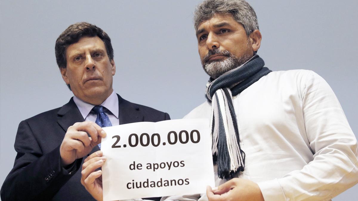 Juan Carlos Quer y Juan José Cortés. (Foto: EFE)