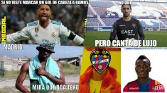 Los memes del Levante vs Real Madrid.