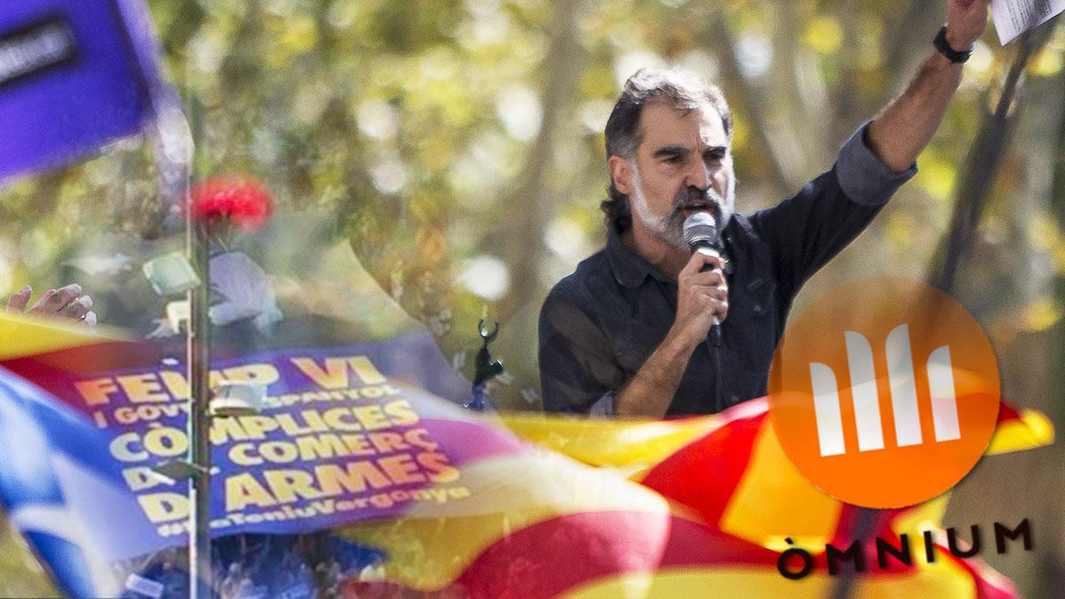 Jordi Cuixart, presidente de Òmnium Cultural.