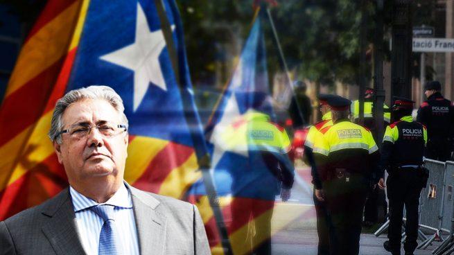 Interior destina a Cataluña otros 300 policías de Información para infiltrarse entre los separatistas