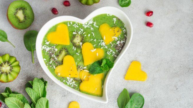 menu san valentin vegano