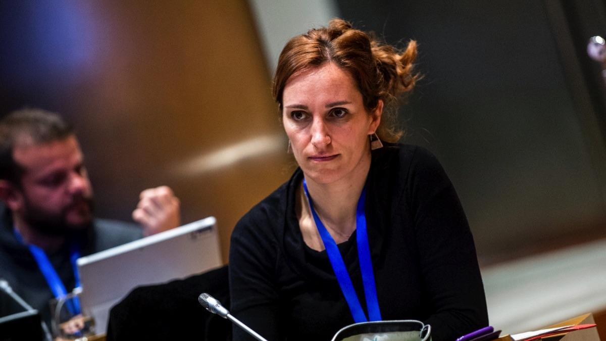 Mónica García, portavoz del grupo parlamentario de Más Madrid en la Asamblea madrileña. (Foto: Flickr)