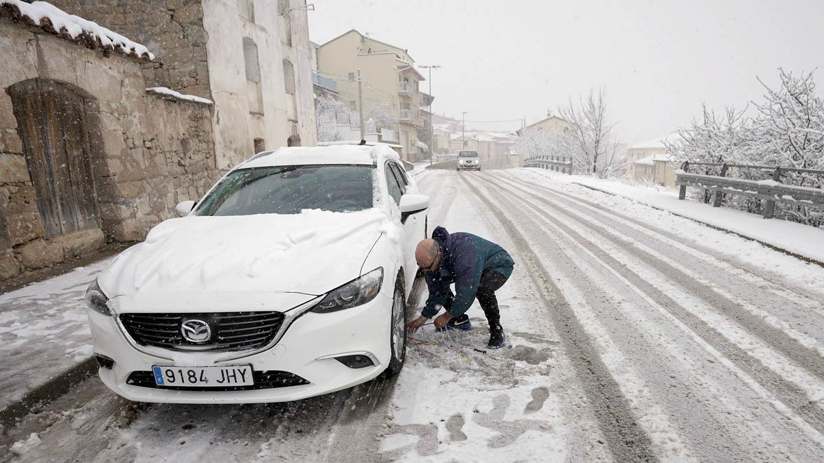 Temporal de nieve en España (Foto: EFE)