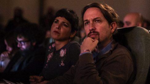 Pablo Iglesias y Teresa Rodríguez.