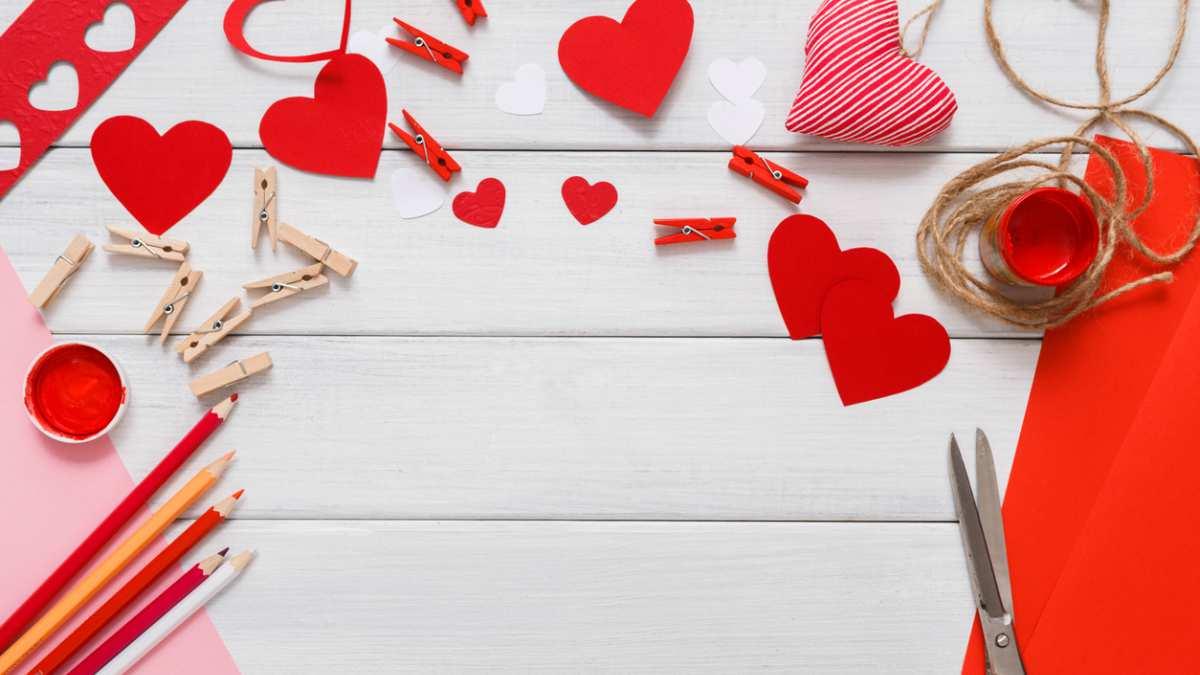C Mo Hacer Una Postal De San Valentin Con Manualidades
