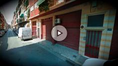 Número 37 de la calle Antares, en Alicante, donde se ha producido el suceso.