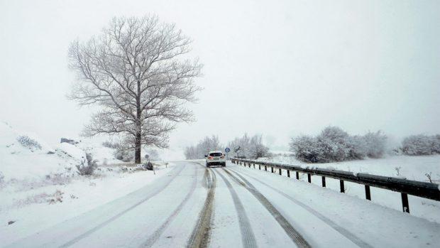 Carretera nieve
