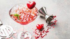 Recetas de cócteles de San Valentín