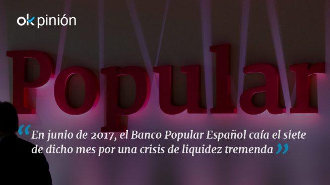 El efecto Mary Poppins en el Banco Popular
