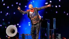 Justin Timberlake actuó en el halftime de la Super Bowl 2018.
