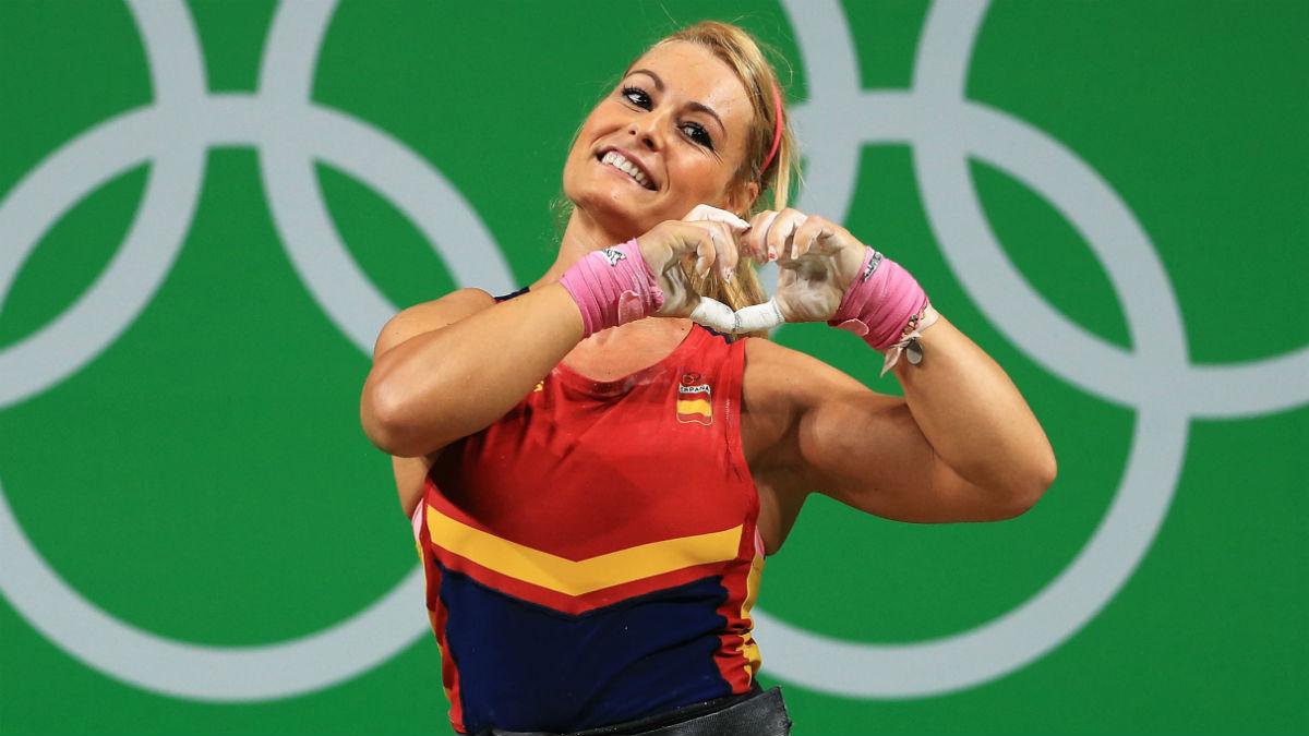 Lydia Valentín, en los Juego de Río. (Getty)