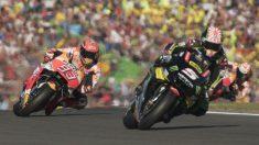 Hasta siete carreras de MotoGP serán más cortas esta temporada, en parte por motivos de agenda y en parte por seguridad. Moto2 y Moto3 también se verán afectadas. (Getty)