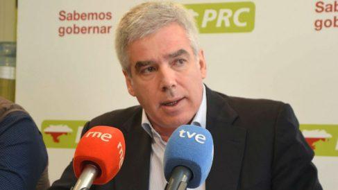 El portavoz del PRC en el Ayuntamiento de Santander, José María Fuentes-Pila Estrada