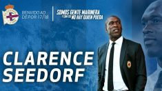 Seedorf, nuevo entrenador del Deportivo.