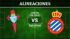 Consulta las posibles alineaciones del Celta de Vigo vs Espanyol