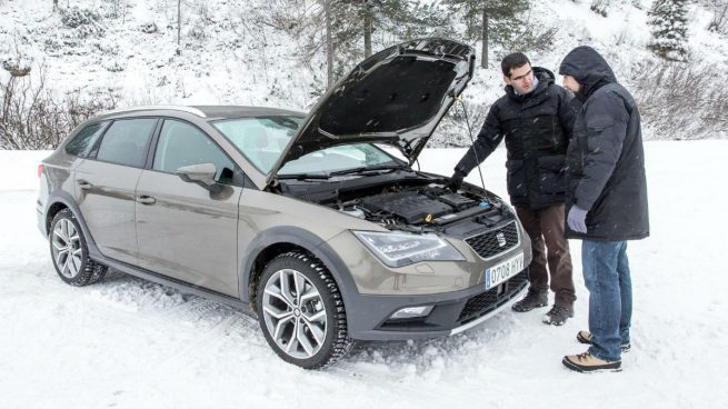 Arrancar el coche cuando hace frio