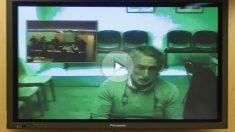 Francisco Correa interviene por videoconferencia en el Congreso de los Diputados. (Foto: EFE)