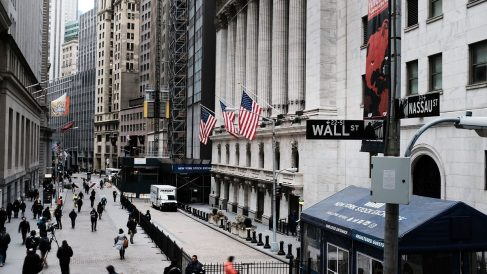 Wall Street (Foto. Getty)