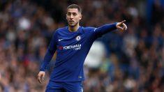 Hazard, en un partido del Chelsea. (Getty)