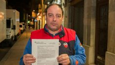 Jordi Perelló, mecánico investigado por delito de odio en Reus (Foto: Twitter)
