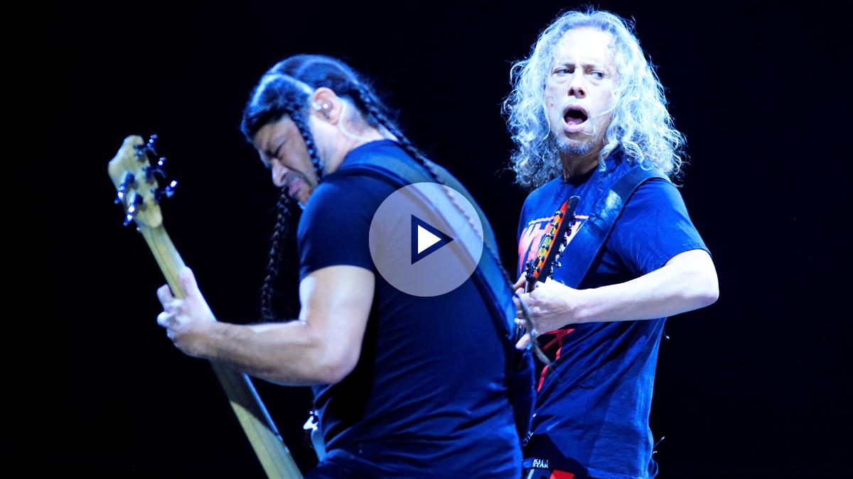 Concierto de Metallica en el WiZinc Center de Madrid.