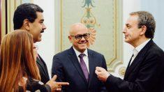Nicolás Maduro y José Luis Rodríguez Zapatero. (Foto: @NicolasMaduro)